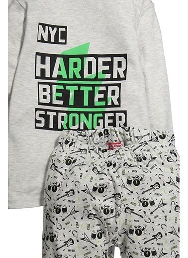 Zeyland Harder Baskılı Pijama Takımı (5-14yaş) Harder Baskılı Pijama Takımı (5-14yaş) Gri